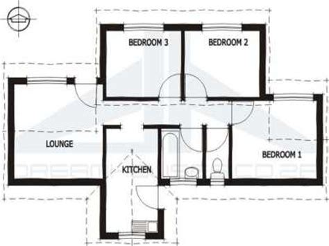 economy home plans economic house plans one story house plans with open