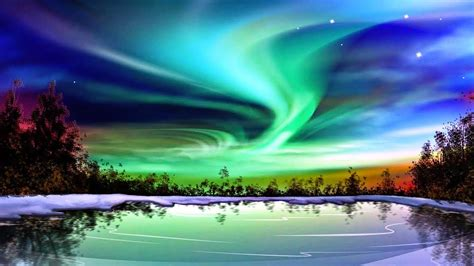 what was the light what causes the northern lights