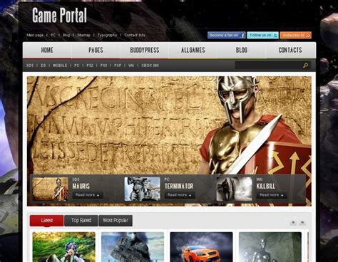 wordpress themes video games 20 free and premium wordpress themes for online games