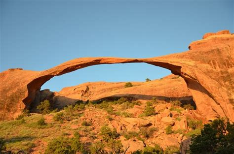 Landscape Arch Broken Landscape Arch Arches National Park Ut On Tripadvisor