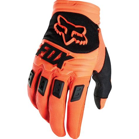 fox motocross gloves fox 2015 dirtpaw race orange gloves sunstate motorcycles