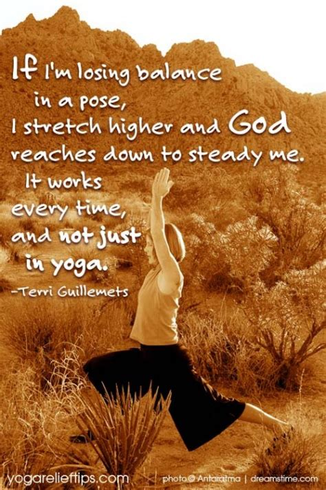 losing balance if i m losing balance in a pose i stretch higher and god reaches