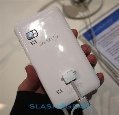 Samsung Galaxy S Wifi Samsung Galaxy S Wifi 5 0 On Slashgear