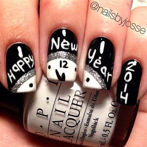 new year nails top new year nail design 2018 rock the world