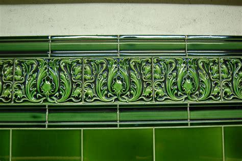 Subway Tile Designs the green agenda leslie green underground stations