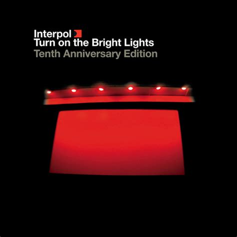 Top Ten Edition Original Merchandise Branded Am Records interpol turn on the bright lights the tenth