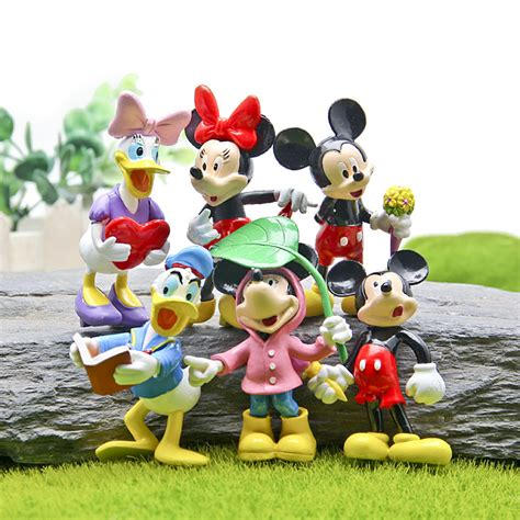 4 In 1 Crayon Set Mickey Minnie 4 Tingkat Isi 46 Pcs Crayon 6pcs set disny anime toys mickey mouse clubhouse pvc