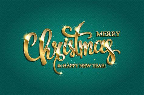 merry christmas  happy  year graphics creative market