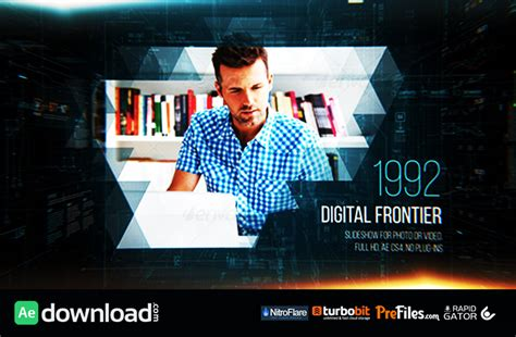 digital frontier slideshow videohive free download
