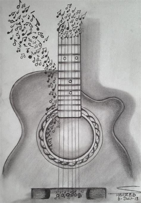 easy guitar book sketch 25 beautiful pencil sketching ideas on pencil
