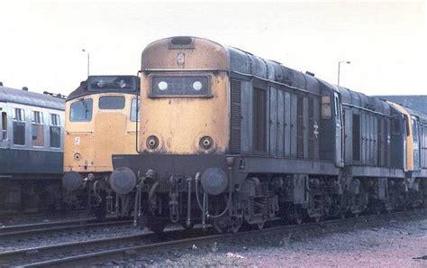 class 25 25304 d7654 bescot a selection of railway