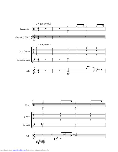 swing gitan tab after youve gone music sheet and notes by django reinhardt