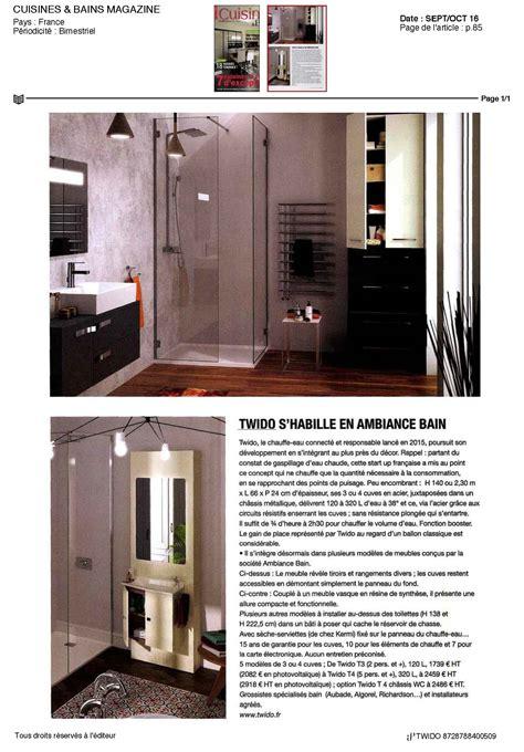 cuisine et bains magazine twido dans cuisines bains magazine