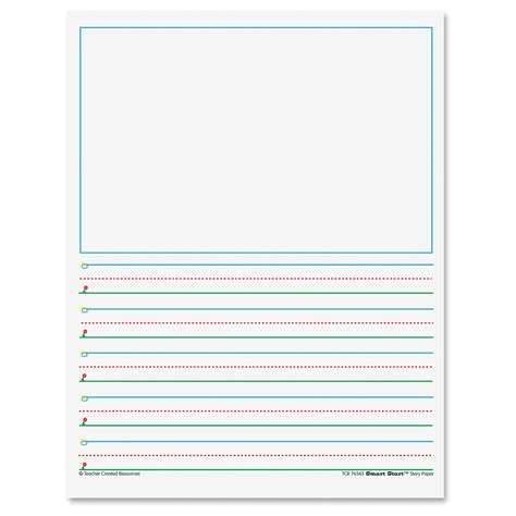 space writing paper k 1 5 8 quot space writing paper ld products
