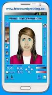 virtual hairstyles app android app virtual hair extensions