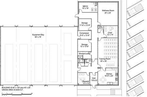 volunteer fire station floor plans 17 best images about fire station on pinterest