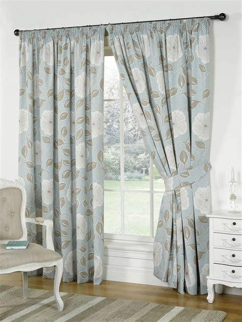 bedroom curtains uk only 17 best ideas about blue pencil pleat curtains on
