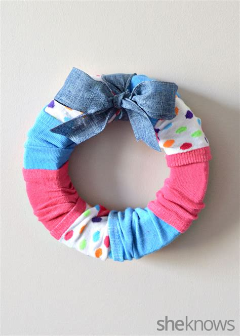 sock wreath dollar store crafts for that don t look like they