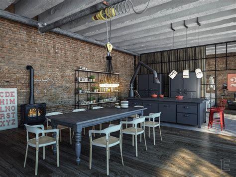 interior design for dining room industrial dining room interior design orchidlagoon