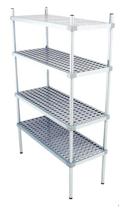 scaffale alluminio scaffale in alluminio 4 ripiani dim cm 140x40x200h