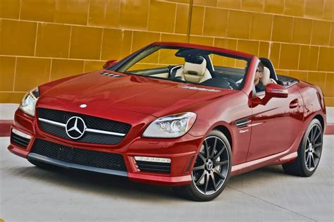 convertible mercedes red used 2015 mercedes benz slk class convertible pricing