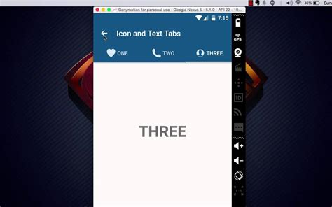 tutorial material design android android material design tabs tutorial demo youtube