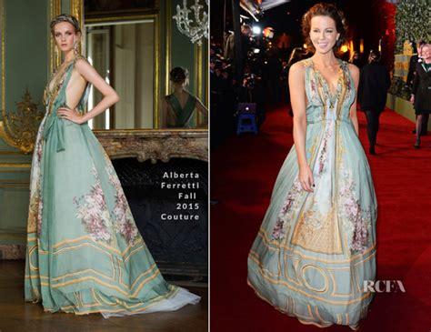 Catwalk To Carpet Maribel Verdu In Alberta Ferretti 2 by Kate Beckinsale In Alberta Ferretti Couture The