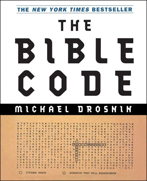 the code book the the bible code book by michael drosnin official publisher page simon schuster canada