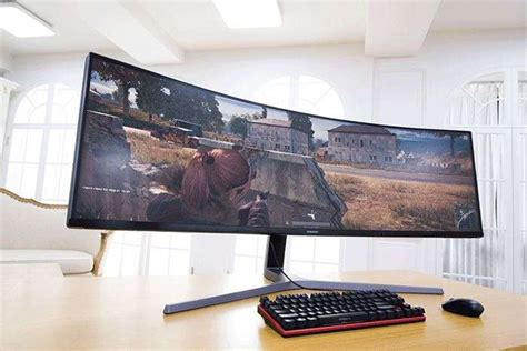 samsung 3 screens samsung chg90 qled gaming monitor shown in new photos geeky gadgets