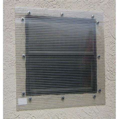 storm awnings shop storm busters 48 in x 96 in clear polycarbonate hurricane shutters at lowes com