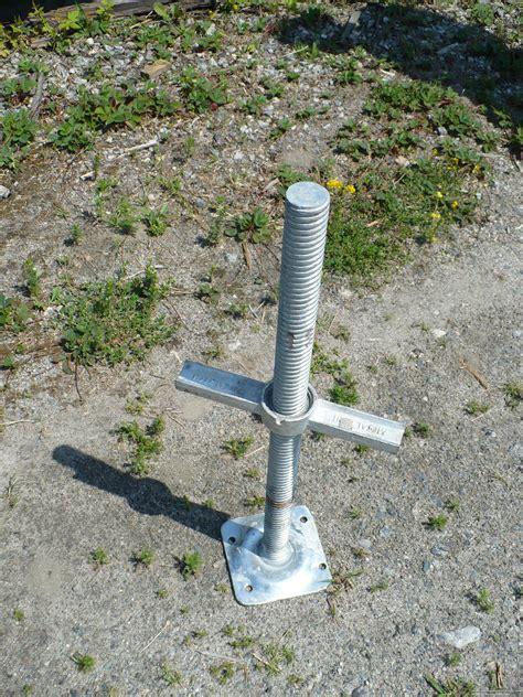 24 inch base 24 inch scaffolding jack base sjbase24 savage