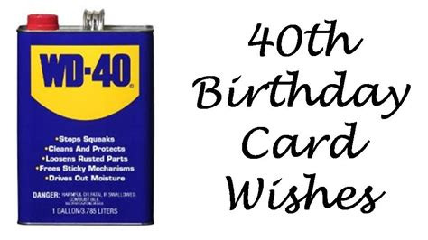 Birthday Quotes 40 Years 40th Birthday Messages What To Write In A 40th Birthday