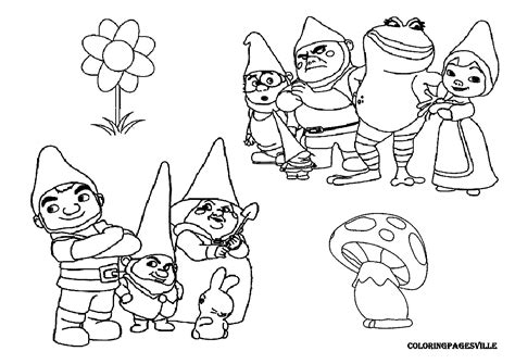 Gnomeo And Juliet Coloring Pages Gnomeo Juliet Coloring Pages by Gnomeo And Juliet Coloring Pages