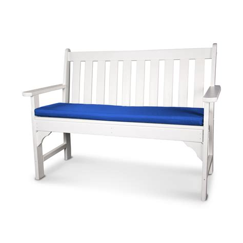 bench cushion outdoor ateeva 56 w x 18 d outdoor bench and swing seat cushion