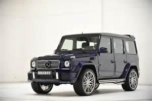 Mercedes G63 Brabus Brabus G63 Amg Mystic Blue