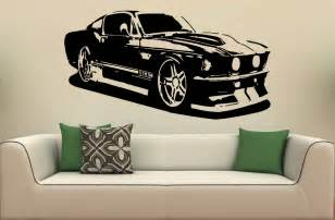 wall mural decal sticker car ford mustang 1967 s 2026