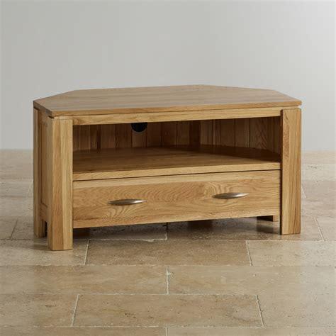 galway corner tv dvd cabinet  solid oak oak furniture land