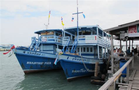 boat to koh samet ban phe port for the ferry to koh samet ferry guide