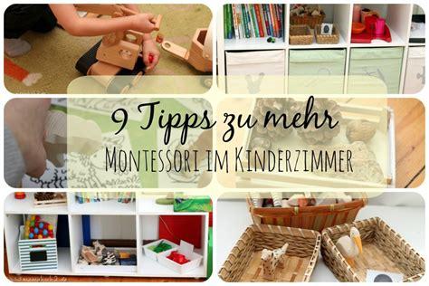 Kinderzimmer Gestalten Montessori by 9 Tipps F 252 R Ein Bisschen Montessori Im Kinderzimmer