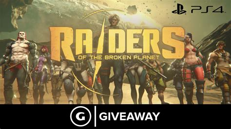 Giveaway Ps4 - raiders of the broken planet beta code giveaway ps4