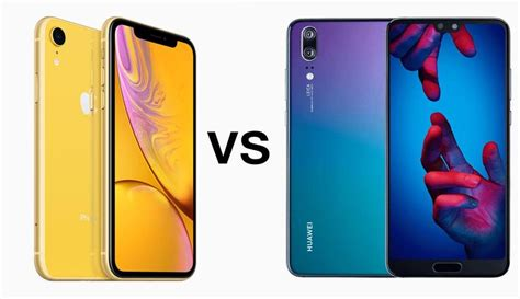 iphone xr vs huawei p20 comparison tech advisor