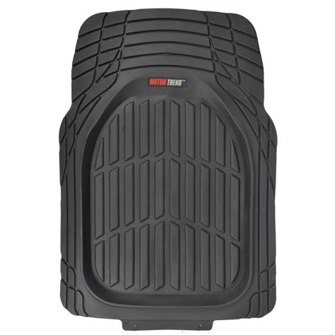 Thick Floor Mats by Motor Trend Flextough 3pc Rubber Floor Mats Thick Heavy