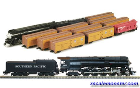 z fruit express azl brass loco pacific fruit express freight sets zscale