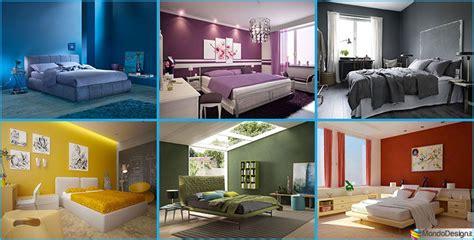 idee  colori  pareti  la camera da letto