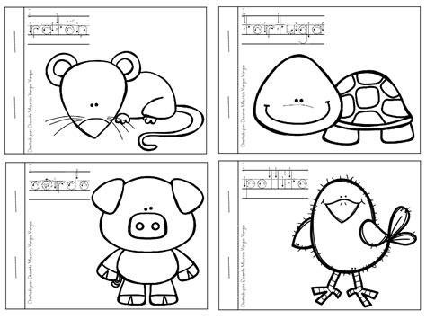 dibujos infantiles para colorear en pdf mi libro de colorear de animales domesticos 3 imagenes