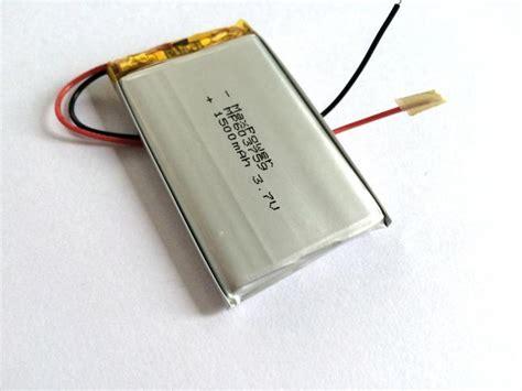 Motorrad Batterie 11 7v by Energiesparende Polymer Batterie Hohe Rate 3 7v 1500mah