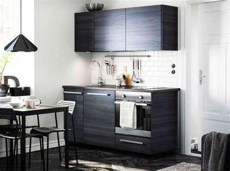 Kitchen Furniture Designs For Small Kitchen Moderni Tummas 228 Vyinen Keitti 246 Jossa Tingsryd Ovet Wellstreet Brown