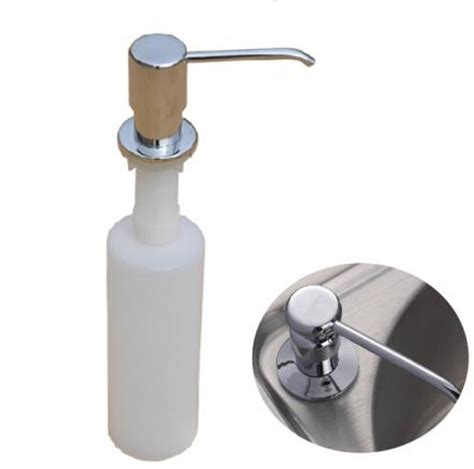 Plastic Bottle Kitchen Sink Liquid Soap Dispensers Liquid Soap Dispenser For Kitchen Sink