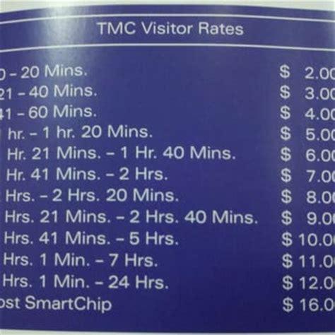 Tmc Parking Garage Map by Center 33 Photos Centres