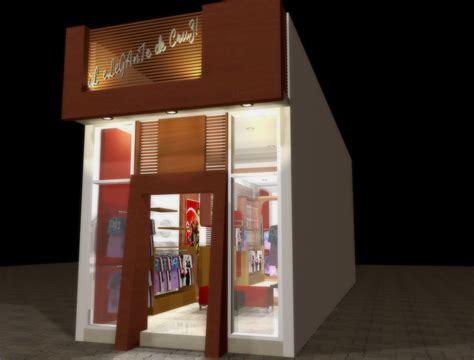 desain interior distro terbaru architectural design project arsitek jogja bondan p